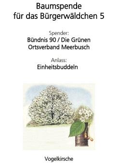 Baumspende #Einheitsbuddeln